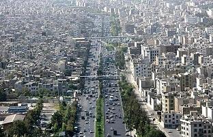 در جنوب تهران