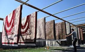 قالیشویی در منطقه سهروردی