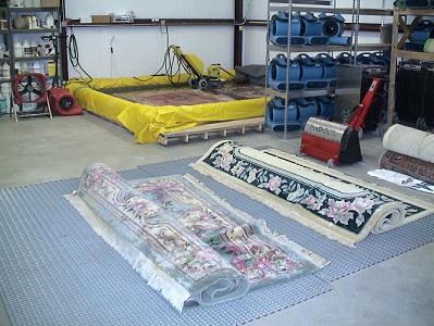 قالیشویی در جنت آباد