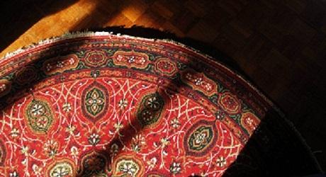 قالیشویی در منطقه جنت آباد شمالی